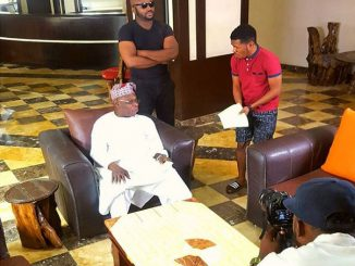 Olusegun Obasanjo in Nollywood series dele issues