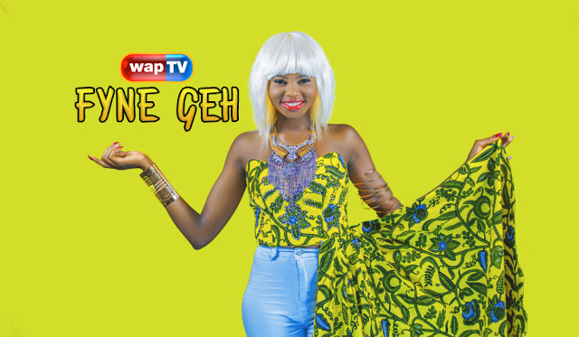 "wapTV debuts new presenter named ""FYNE GEH"""