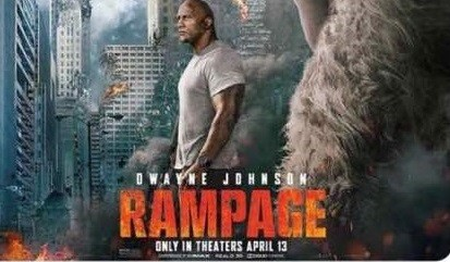 Dwayne Johnson's character (Davis Okoye) was adopted by a Nigerian Family in Rampage Movie