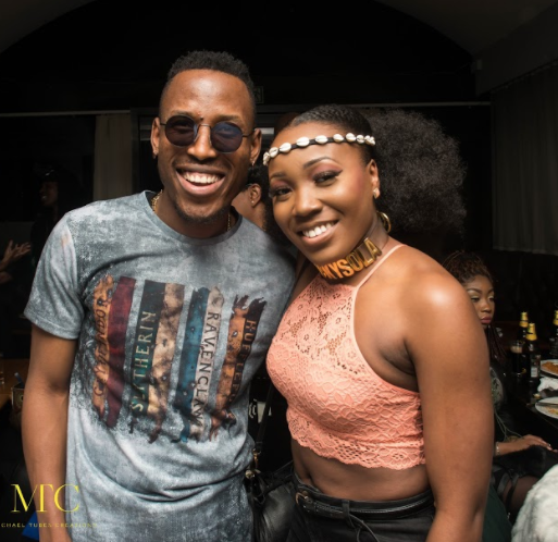 Seyi Law, Dija, Smade, others turn up for Mr 2kay\'s massive album listening party in London (Photos)