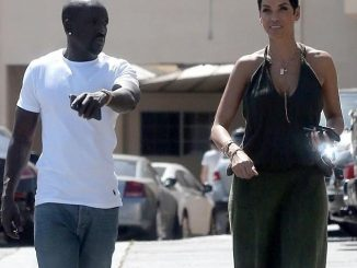 Nicole Murphy pictured on a lunch date with mystery man in Hollywood (Photos)