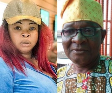 Nollywood actress, Dayo Amusa loses her dad
