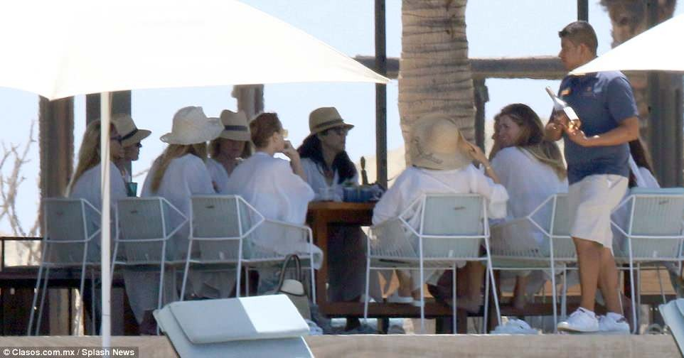 Actress Gwyneth Paltrow holds bachelorette party with 13 women from all aspects of her life in Mexico (Photos)