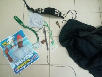 Photos: Charms recovered from thugs who invaded the National assembly