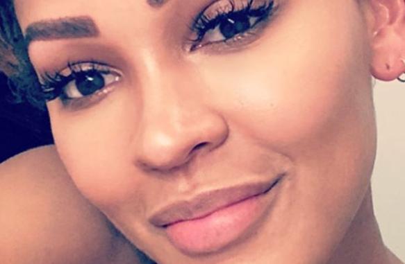 Meagan Good gets eyebrows transplant