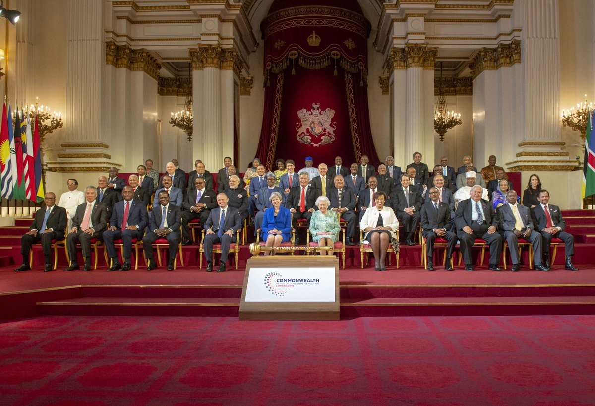 Photos: President Buhari participates in the executive session of the Commonwealth heads of Government meeting