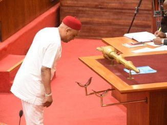 Stolen mace returned to the Senate (photos)