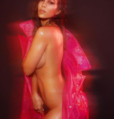 Kourtney Kardashian strips down on the cover of V magazine