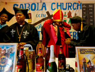 Photos: Inside Gabola Church in South Africa where alcohol is required for worship and baptism
