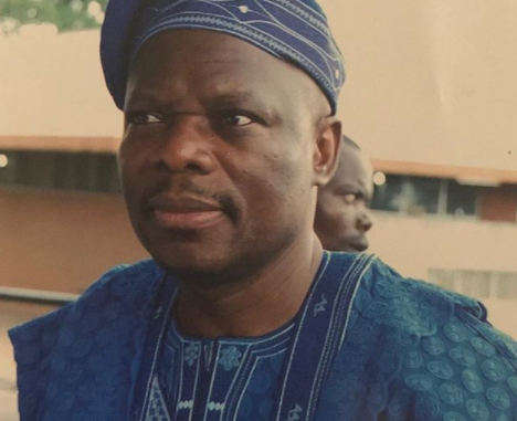 Nigerian Hollywood star, John Boyega, shares rare photo of his dad