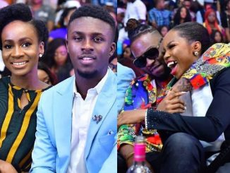 See how Big Brother Naija couples, Loto and BamTeddy slayed at the grand finale screening (Photos)