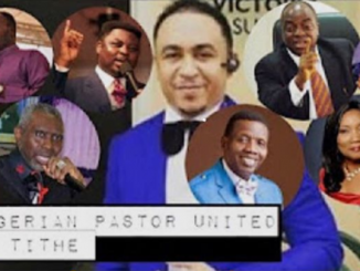 Former Nigerian pastor says pastors live on blood money, says he feels ashamed for ever being a pastor and thanks God for opening his eyes