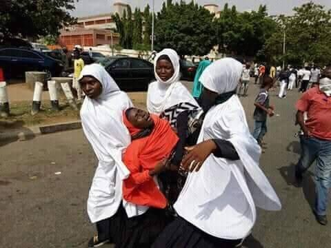 Photos: Police, Shiite protesters clash again in Abuja