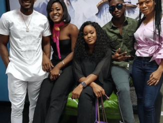 Photo of the day: Big Brother Naija finalists spotted in Lagos this morning