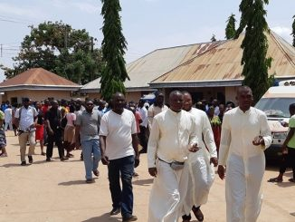 Photos and video from the scene where two Catholic priests and 17 others were hacked to death in Benue by herdsmen(graphic)