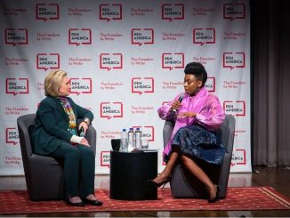 Chimamanda Ngozi Adichie replies Nigerians attacking her over her comment to Hillary Clinton