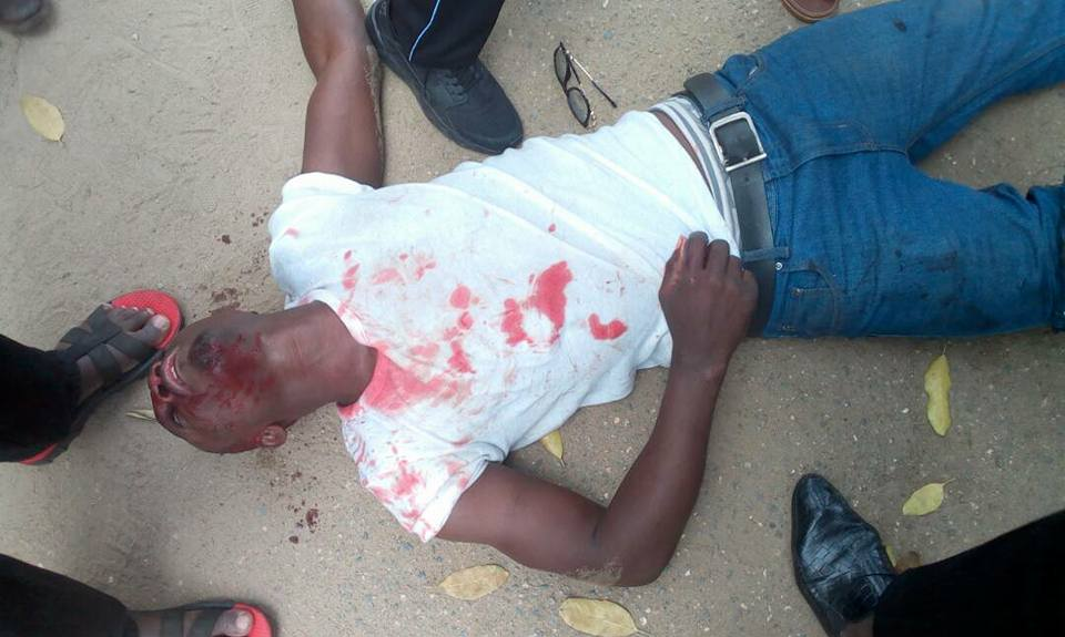 1 dead, several injured as NDLEA officer opens fire on local government staff celebrating in Lagos (graphic photos)