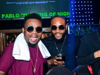 Photos: Olamide, Phyno, E-money turn up for Kcee's lavish birthday party in Lagos