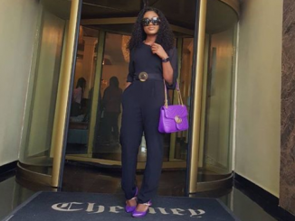 Ceec and her Gucci bag step out in Lagos (Photos)