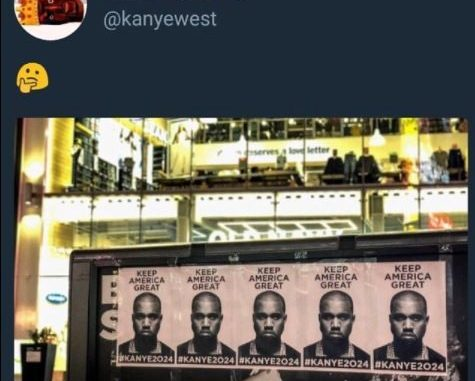 Kanye West campaign posters appearing all over New York City, Chicago and Los Angeles with the hashtag #Kanye2024 (Photos)