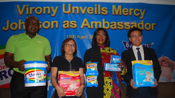 Virony broadens market, appoints Mercy Johnson-Okojie brand ambassador