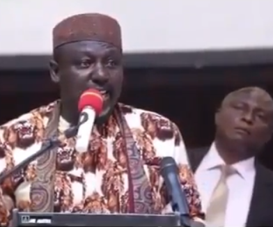 Hilarious! Gov Rochas Okoroacha uses Igbo language to warn his people about HIV
