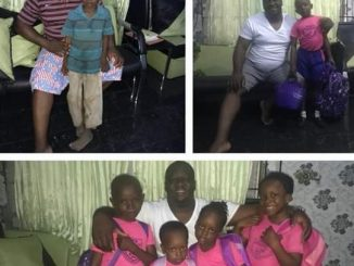 Heartwarming! Nigerian man enrolls a 'poor' boy he met on the street in same school as his own children