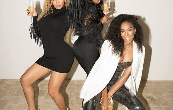 Another Destiny's Child Reunion! Beyoncé, Kelly Rowland & Michelle Williams hang out (Photos)