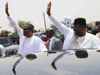Reno Omokri mocks the 'large crowd' President Buhari drew in Bauchi State yesterday