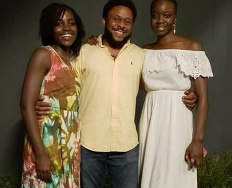 Chimamanda Adichie's brother hangs out with Lupita Nyong'o and Danai Gurira 'Okoye' of Black Panther