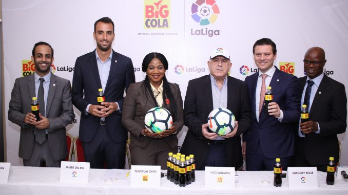 LaLiga signs Regional Partnership with Big Cola Nigeria