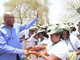 Photos: Bukola Saraki visits NYSC camp ground in Kwara following death of female corps member