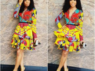 #BBNaija's Nina looking pretty in print (photos)