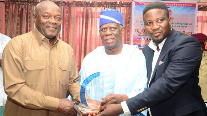 At Integrity Reporters Lecture, Iyamu, Fanimokun, Others Proffer Solution To Nigeria's Woes