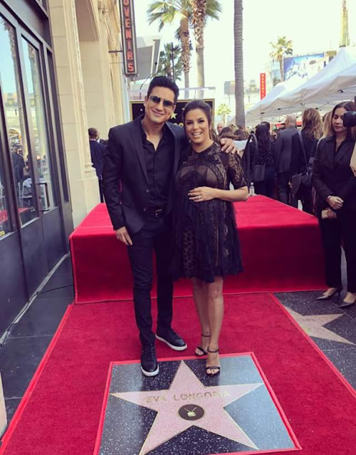 Eva Longoria receives star on Hollywood Walk of Fame 20 years after landing in the city (photos)