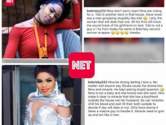 #BBNaija: Bobrisky Blasts Ebuka For Asking Nina 'Stupid Questions' During Eviction Show