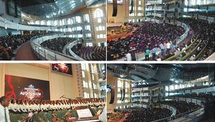 DEEPER LIFE Opens New Church Auditorium @ GBAGADA, LAGOS