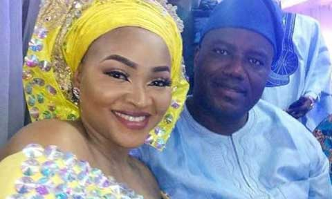 Lanre Gentry Shades Mercy Aigbe With Key and Padlock