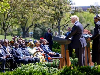 President Trump expresses concern over attacks on Christians and Churches in Nigeria, says ''It's a horrible story''(video)