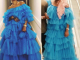 Rihanna vs Tayo Sobola: Who rocked this frilly blue dress better?