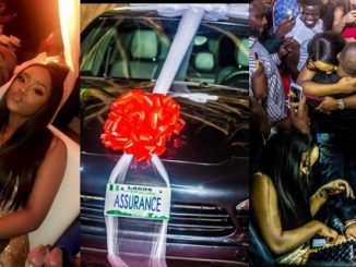 ''Davido you don't have respect, this Porsche assurance gift to Chioma is too much for your age'' Comedian AY Makun jokingly tells singer
