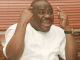 Governor Nyesom Wike blames FG for security challenges