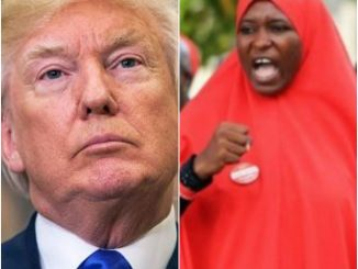 ''Stop being ridiculously belligerent'' BBOG convener, Aisha Yesufu slams Donald Trump for his stance on the killings in Nigeria