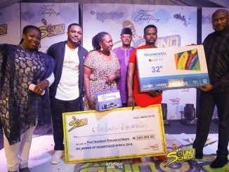 Photos: Okey Chucks emerged winner of Sound Check1, a reality music competition by Tim Godfrey