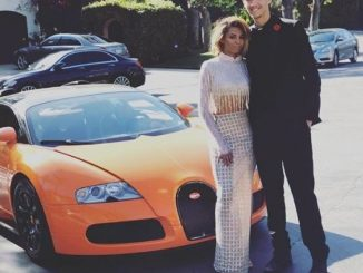 Mel B's daughter Phoenix Chi, 19, is reportedly dating a Billionaire teen, goes to Prom with him in $2m Bugatti Veyron (Photos)
