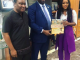 Photos: Ceec and her dad meet FIRS boss, Tunde Fowler in Abuja