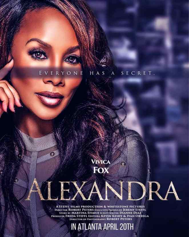 "Hollywood Meets Nollywood! Vivica Fox, Joseph Benjamin, Freda Steffl, Ada Ameh, Rob Hays, Others Star In ""Alexandra"""