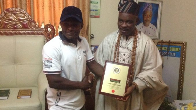 Baale of Magbon Imeke, Chief Kehinde Gafar Hassan Wins OFM Awards