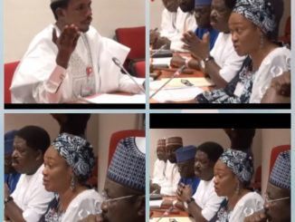 Nigerians are divided over over Senator Tinubu and Elisha Abbo's clash during his disciplinary hearing