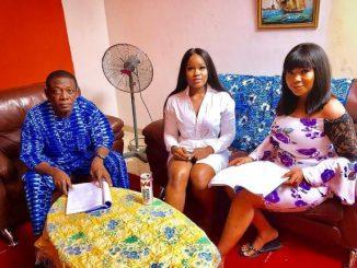 Ex-BBNaija housemate, Ceec makes her Nollywood debut (Photos)